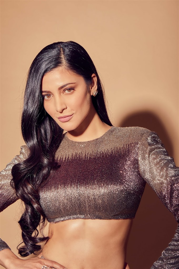 Tamil Actress Shruti Haasan Latest Photoshoot Pics.