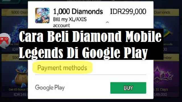 Cara Beli Diamond Mobile Legends Di Google Play