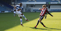 QPR UNDER-23S CAME OUT 2-1 WINNERS AGAINST SHEFFIELD UNITED AT LOFTUS ROAD THIS AFTERNOON THANKS TO GOALS FROM BRIGHT OSAYI-SAMUEL AND ARAMIDE OTEH.
