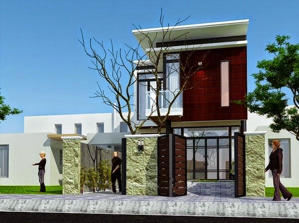 Thiết kế mẫu biệt thự đẹp 2 tầng hiện đại 3 |  Mẫu nhà biệt thự