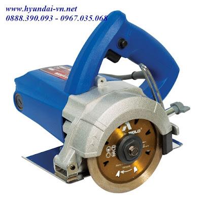 Máy cắt đá mini cầm tay Huyndai HCG 110N