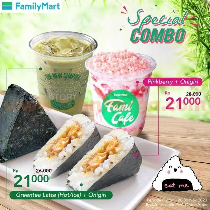 Family Mart Promo Paket Special Combo harga cuma Rp 21.000