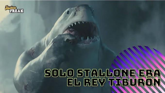 James Gunn escribió a King Shark pensando en Sylvester Stallone.