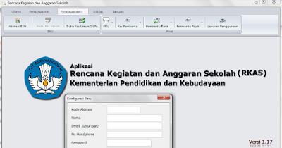 gambar aplikasi rkas dikdasmen kemendikbud versi 1.17