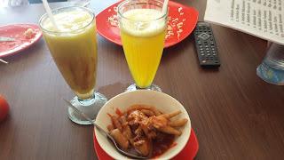 makan siang di afc
