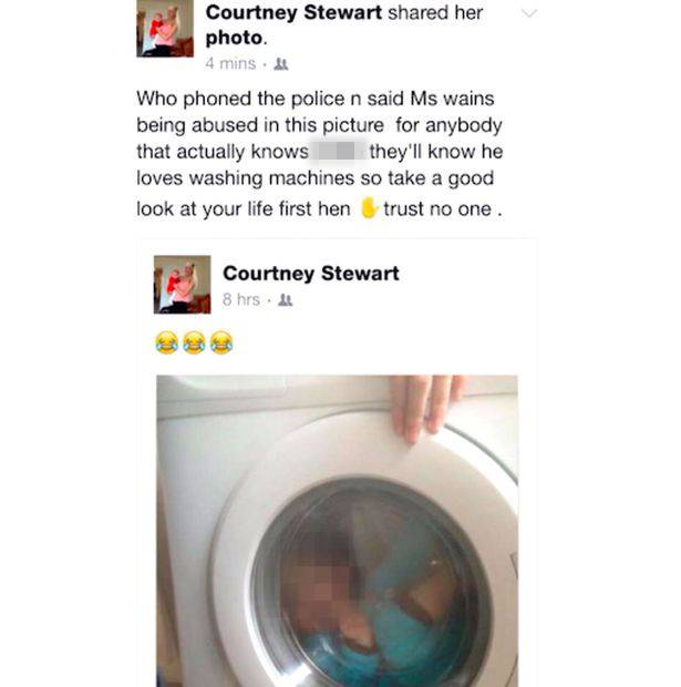 Netizens Slammed This Mom After She Posted a Photo Of Her Son With Down Syndrome Trapped Inside A Washing Machine!