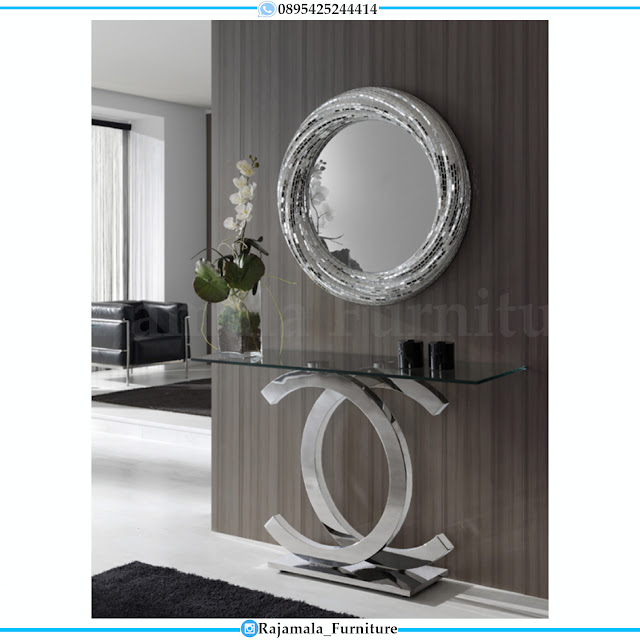 Jual Meja Konsul Minimalis Terbaru Design Luxury Classic Jepara RM-0524
