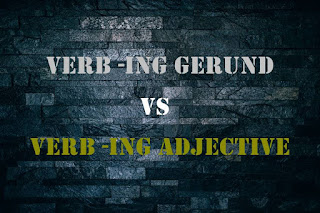 DBI | Gerund vs Adjective