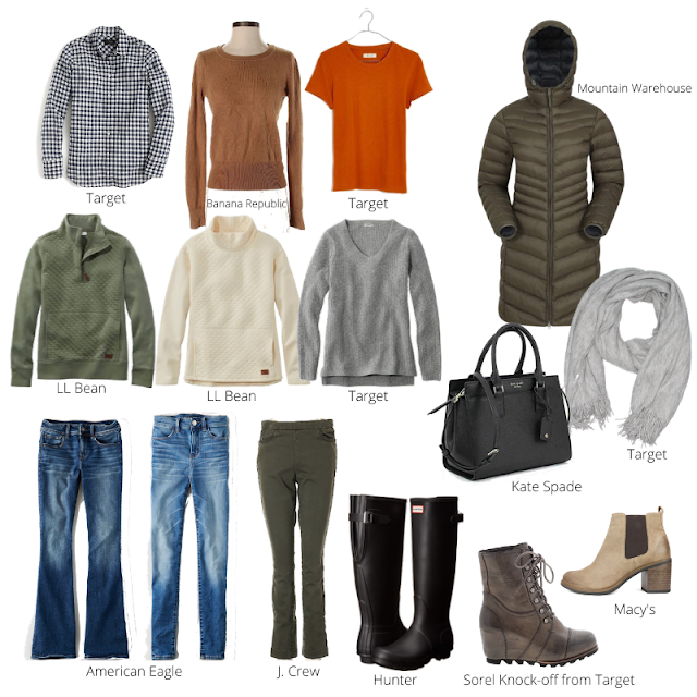 January Capsule Wardrobe Pieces