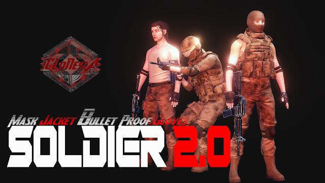 Iclone AVATAR - SOLDIER 2