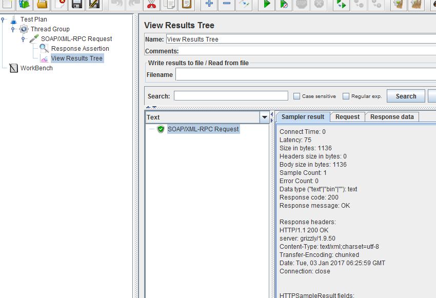 Jmeter SOAP/REST Web Services Testing