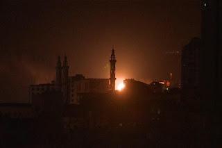 Israel Bombardir Pabrik Senjata Hamas di Gaza