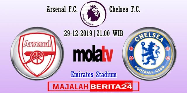 Prediksi Arsenal vs Chelsea — 29 Desember 2019