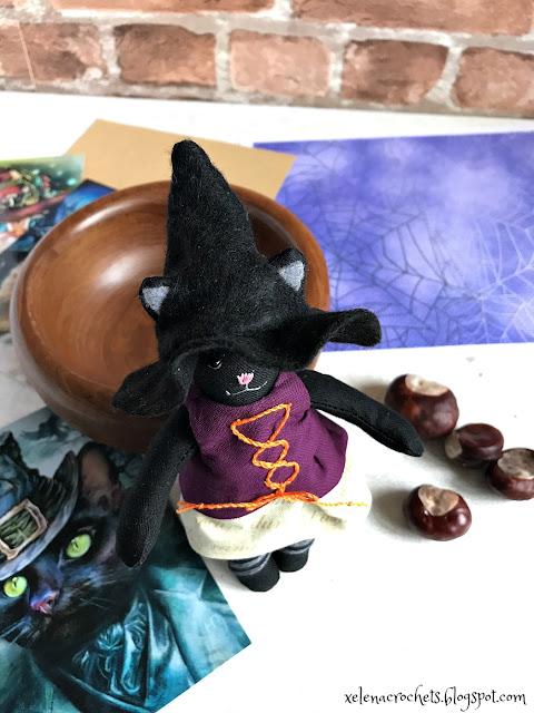 текстильная игрушка своими руками на хэллоуин