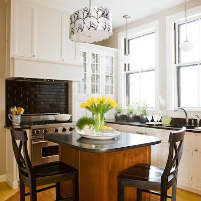 Fotos de cocinas peque as con isla ideas para decorar - Fotos de cocinas pequenas ...