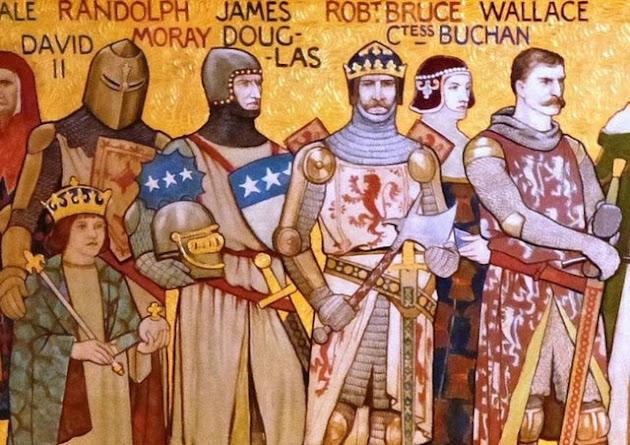 Scots Warriors: The Black Douglas, by JD