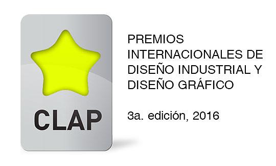 Premios Internacionales del Diseño Industrial y Diseño Gráfico CLAP