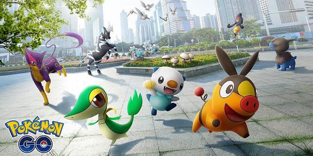 Unova chegando em Pokémon Go junto com Mewtwo shiny.