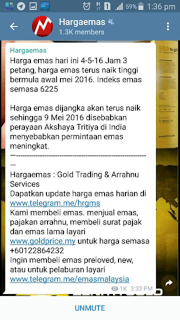 NEWS GOLD BULAN MAY!!