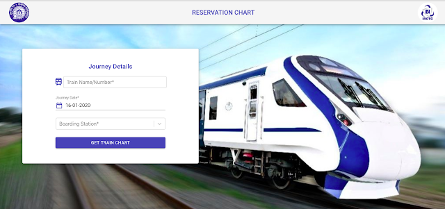 Indian Railways Launches Online Reservation Chart Facility on IRCTC, How to Use and Full Details