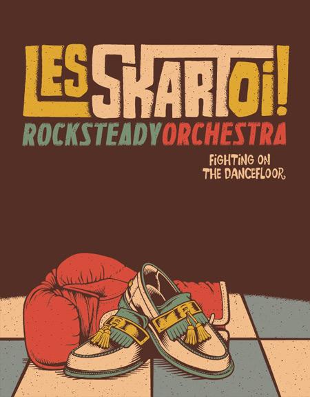 Το πολυμελές συγκρότημα Les SkartOi!