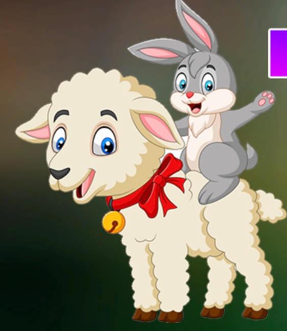 Play Games4King Lamb And Bunny…