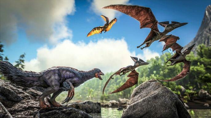 """Ark Survival Evolved teve como inspiração dois clássicos da década de 90, o filme """"Jurassic Park"""" de 1993"""