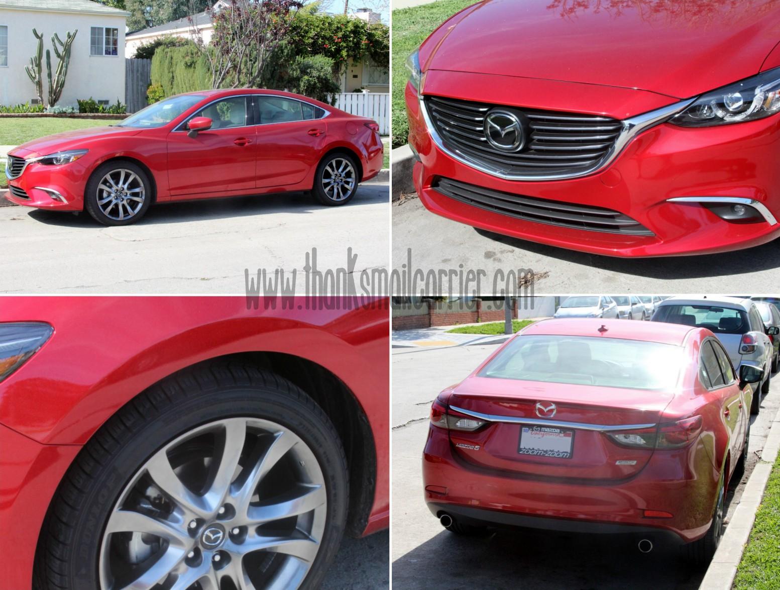2016 Mazda6 exterior