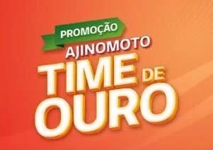 Cadastrar Promoção Time de Ouro Ajinomoto 2020 - Produtos e Prêmios