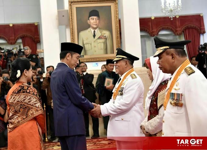 Presiden Jokowi Lantik Gubernur dan Wakil Gubernur Maluku Utara