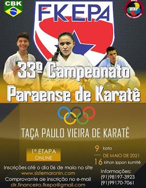 Campeonato Paraense de Karate On-Line - 1ª Etapa