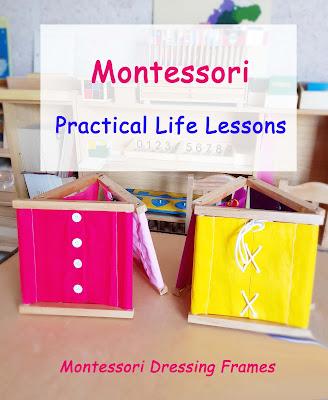 Montessori Dressing Frames Lesson