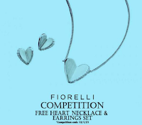 Vinci gratis Set Fiorelli Silver con Collana Cuore con orecchini