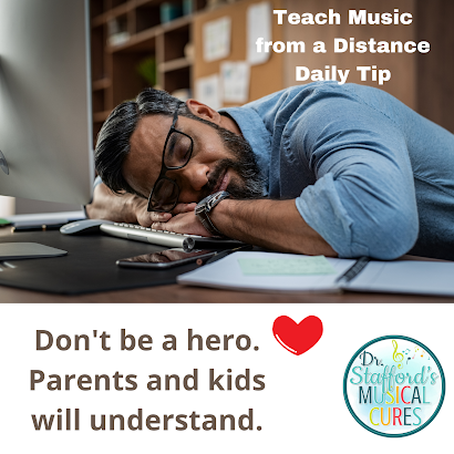 Take care of yourself as a music teacher during COVID