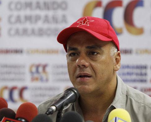 Jorge Rodríguez aseguró que cronograma electoral de 2017 no tendrá cambios