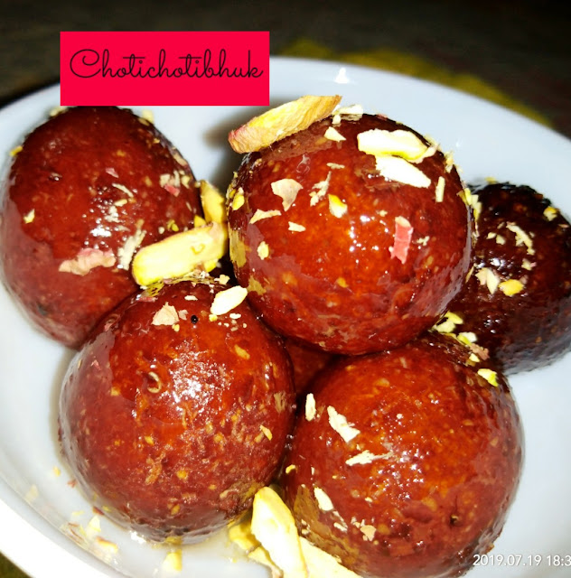 Gulab Jamub made with oats