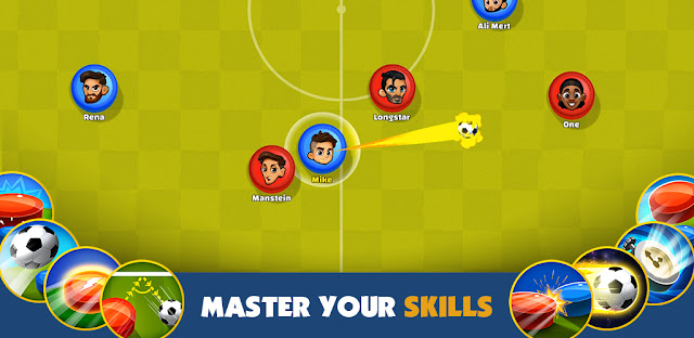 Screenshot Super Soccer 3V3 - Apcoid