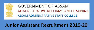 Assam Administrative Staff College (AASC) Junior Assistant Previous Papers and Syllabus 2019