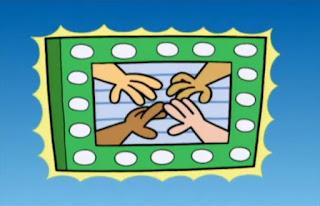 we can watch the Hand Channel on TV. Sesame Street Elmo's World Hands TV Cartoon