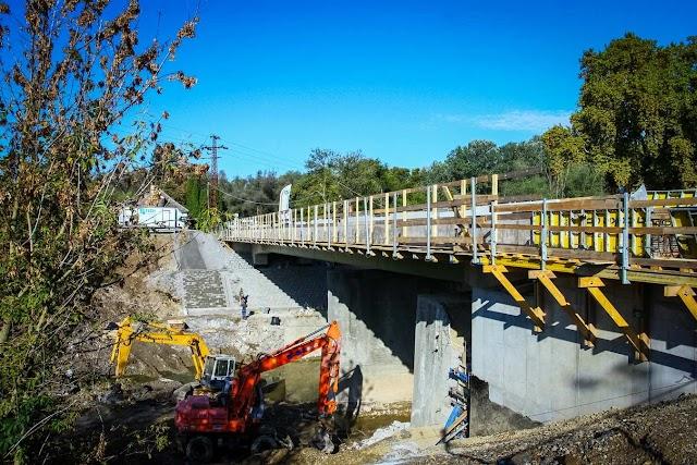 Átadták a bajai Ferenc-csatorna felújított hídját