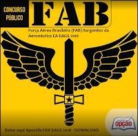 Apostila Sargento da Aeronáutica concurso 2018