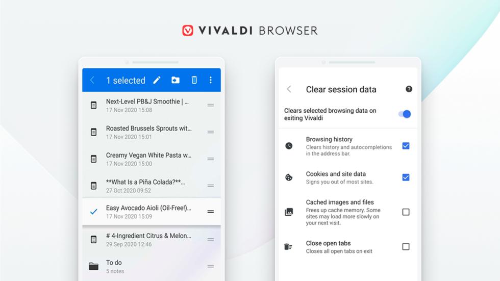 Vivaldi Browser per Android si aggiorna con novità