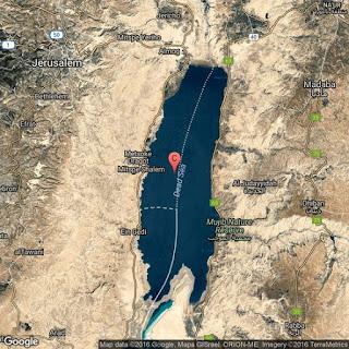 معلومات قيمة عن البحر الميت