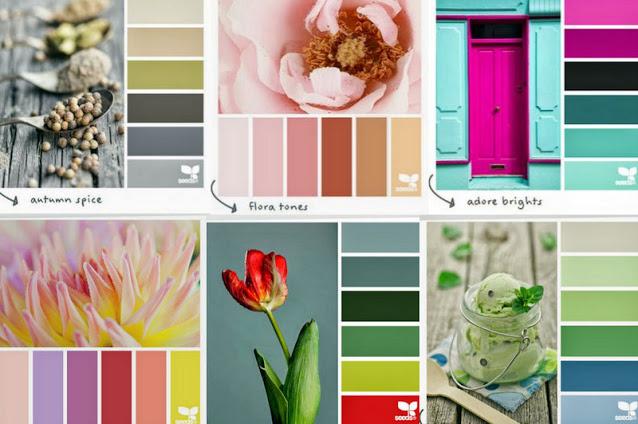 50+ Χρωματικές παλέτες - συνδυασμοί για το Βάψιμο και την Διακόσμηση του σπιτιού