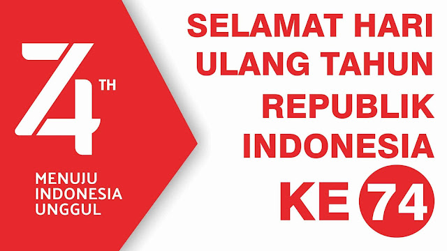 HUT Republik Indonesia ke-74
