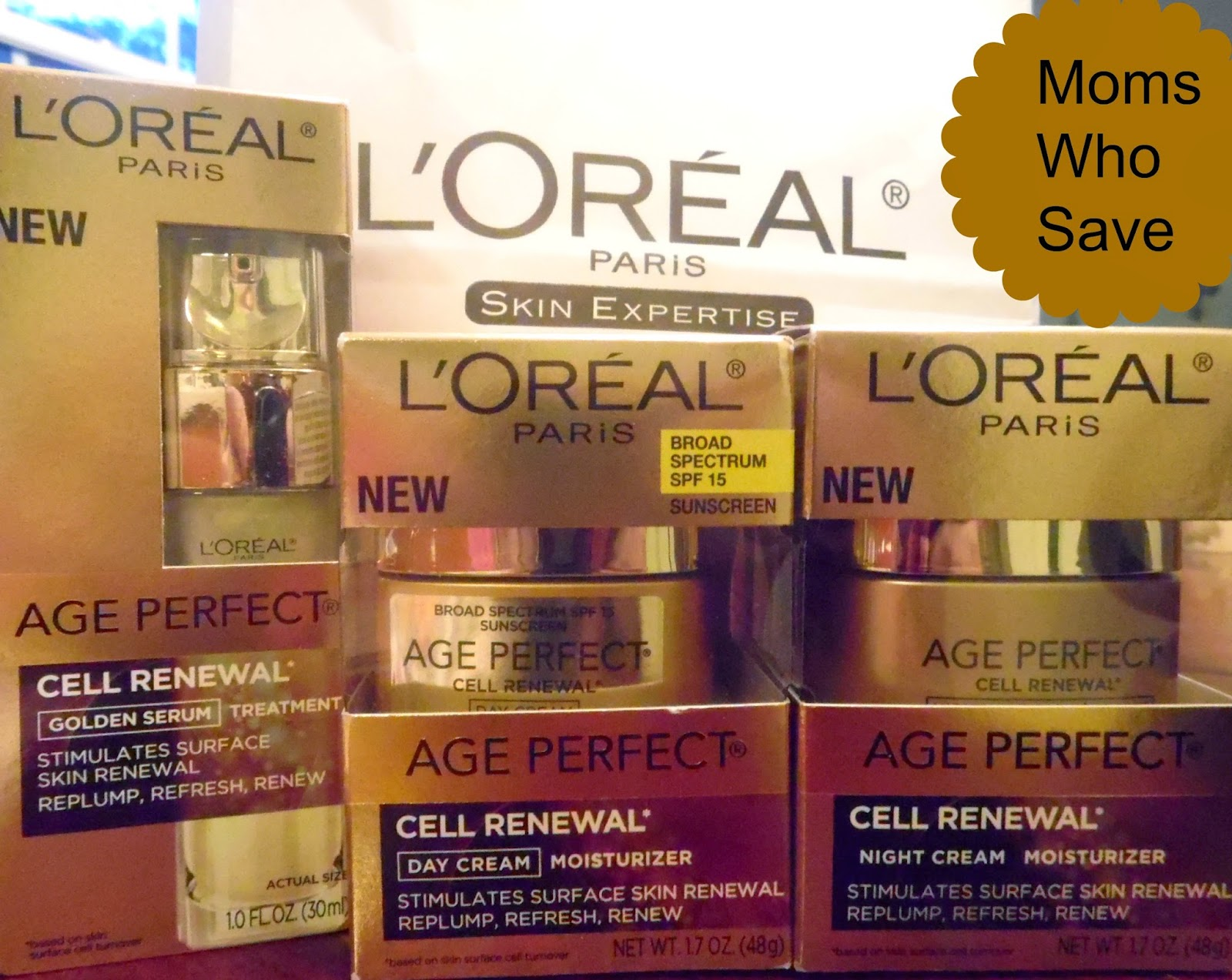 Reveal Your Younger-Looking Skin -- L'Oreal Age Perfect Cell Renewal