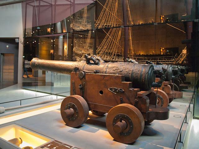 jiemve, Vasa, bâteau, musée, décoration,jiemve, Vasa, bâteau, musée, canon