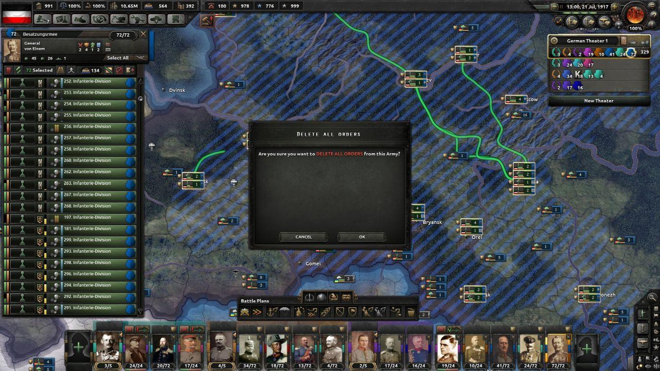 Prussia - HOI4 - Army Reorganization