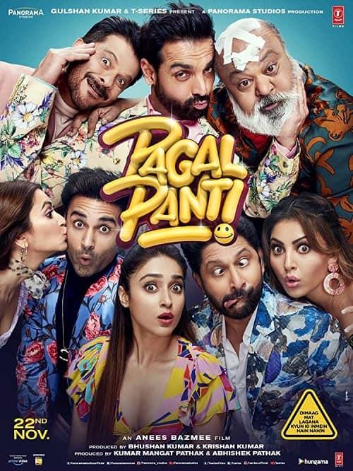 Download Pagalpanti (2019) 480p [700MB] || 720p [1.2GB]