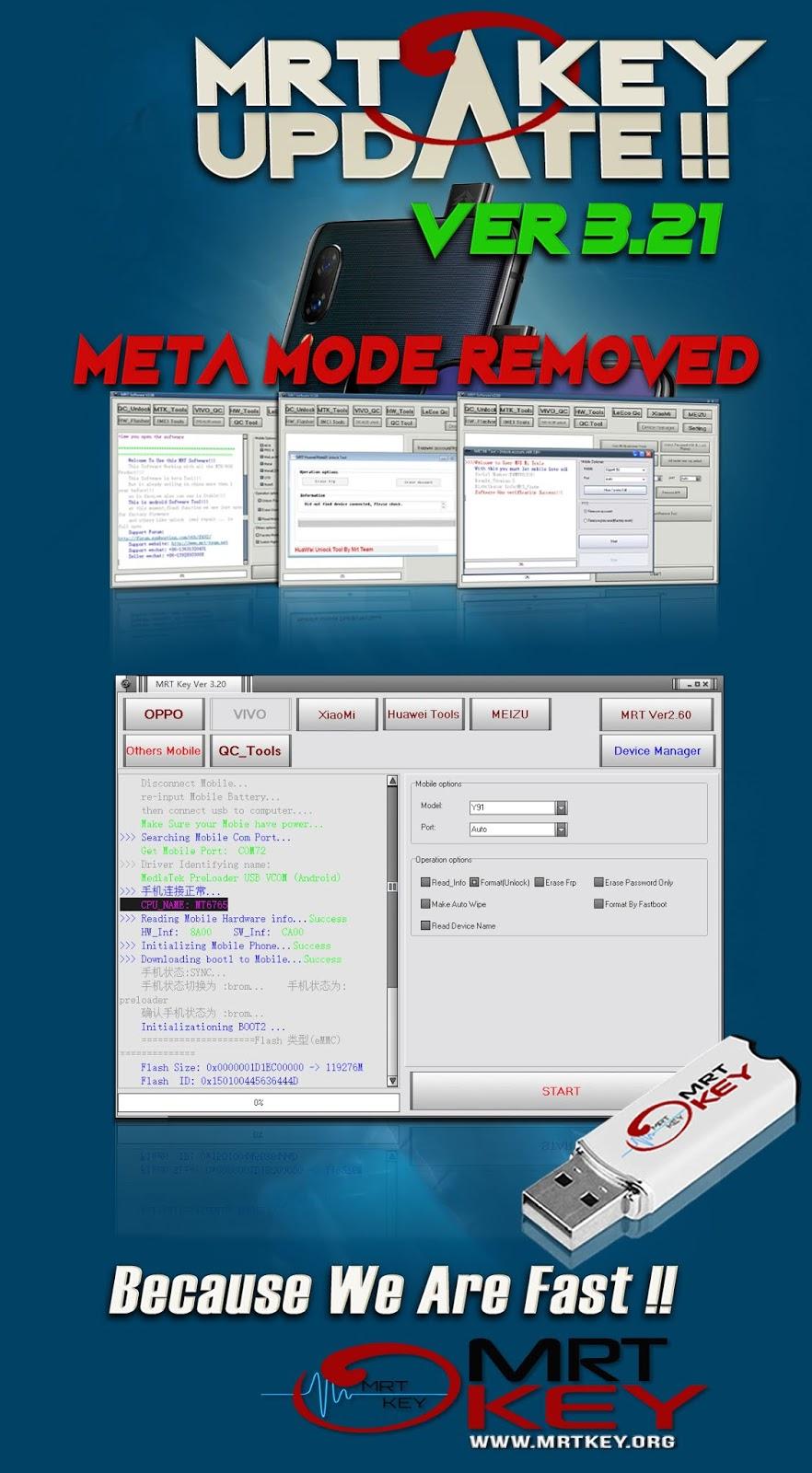 MRT 3 21 Update VIVO 6771 6765 CPU Unlock Without Meta & ADB